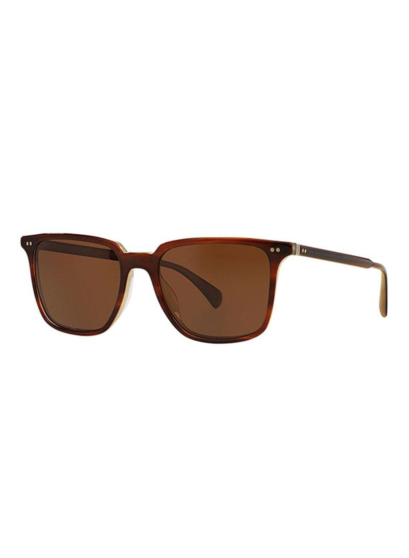 e166731fc5 Shop Oliver Peoples Women s Square Frame Sunglasses 5316SU 1437N9 ...