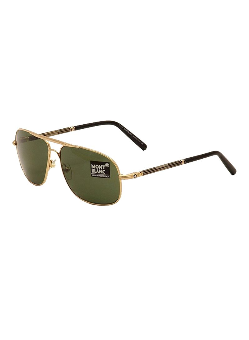 48d481fd3f7 Shop Mont Blanc UV Protected Aviator Sunglasses MB513S 30N online in ...