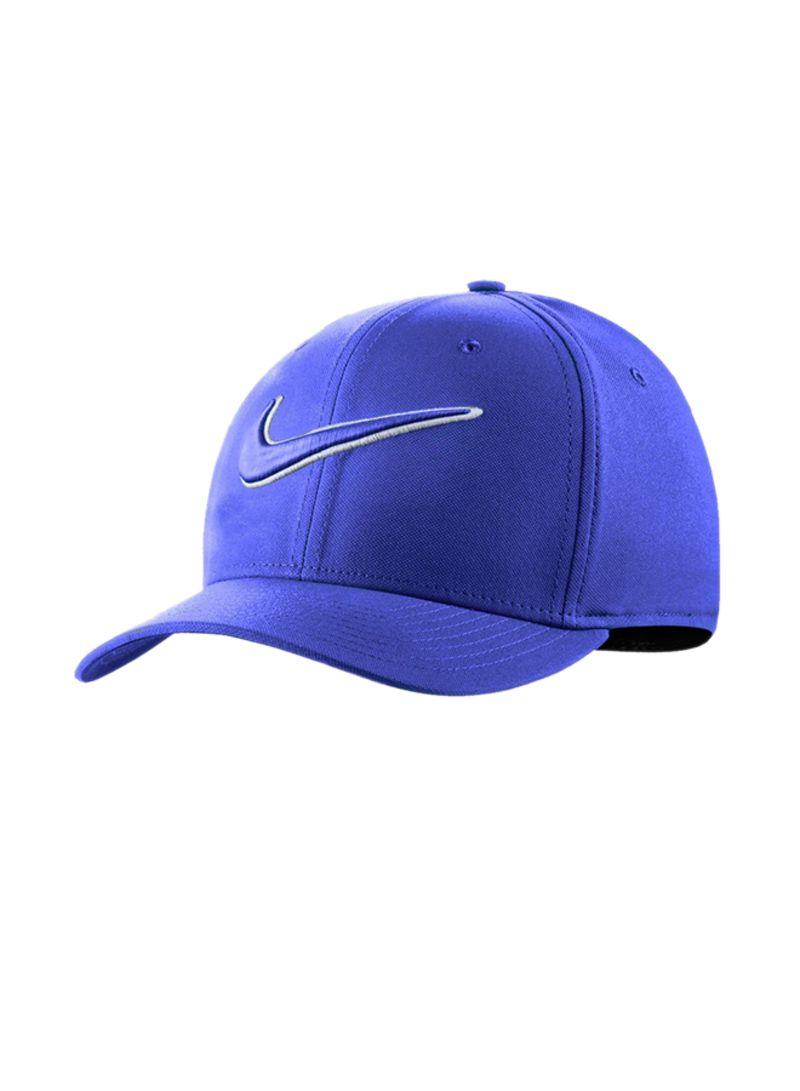 00911d3c150 Shop Nike Swoosh Classic 99 Fitted Golf Hat Blue online in Dubai ...