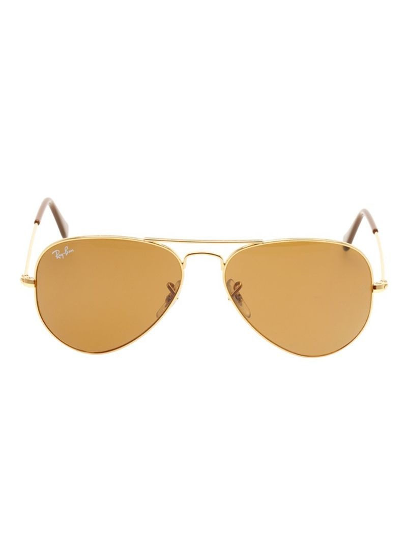 8db0baab47 Shop Ray-Ban Classic Polarized Aviator Sunglasses RB3025 001 57 ...