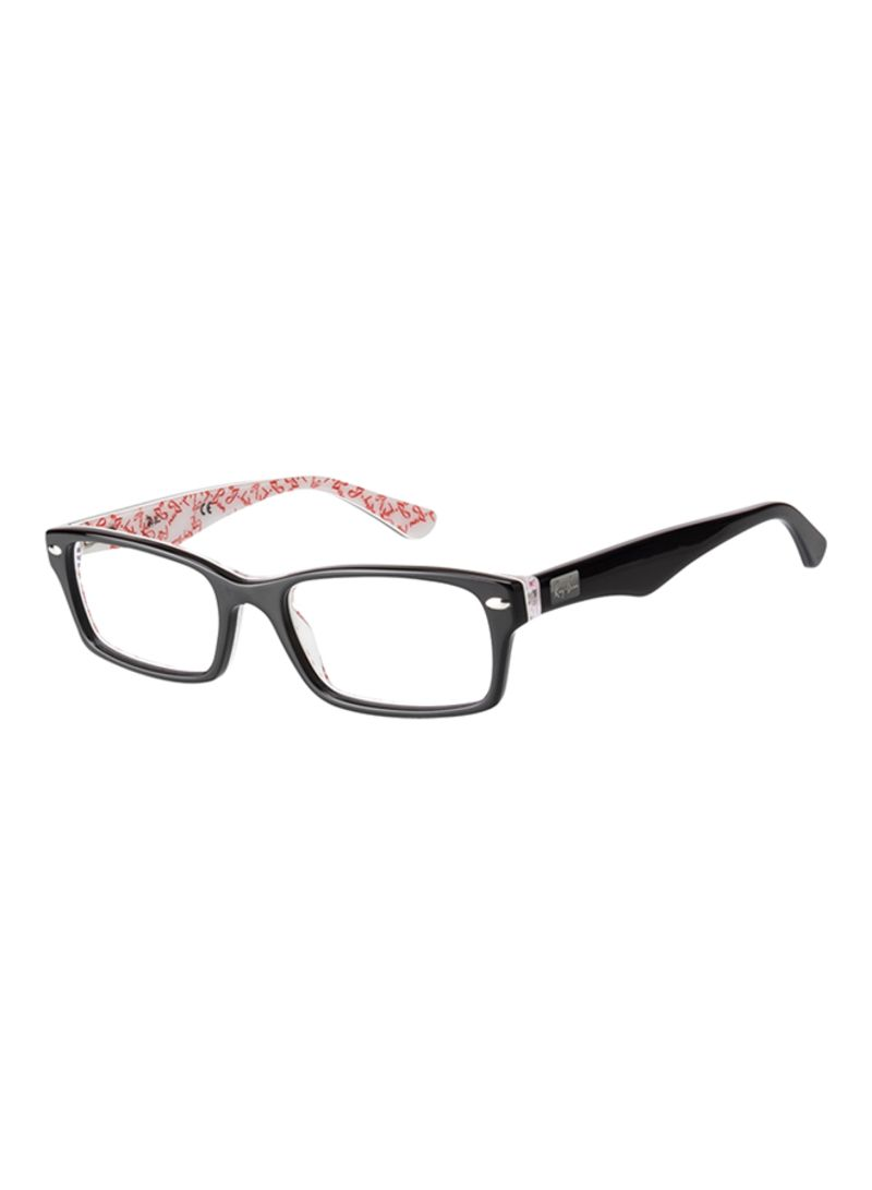 71c9c462c1 Shop Ray-Ban Men s Full Rim Rectangular Eyeglass Frame RX 5206 5014 ...