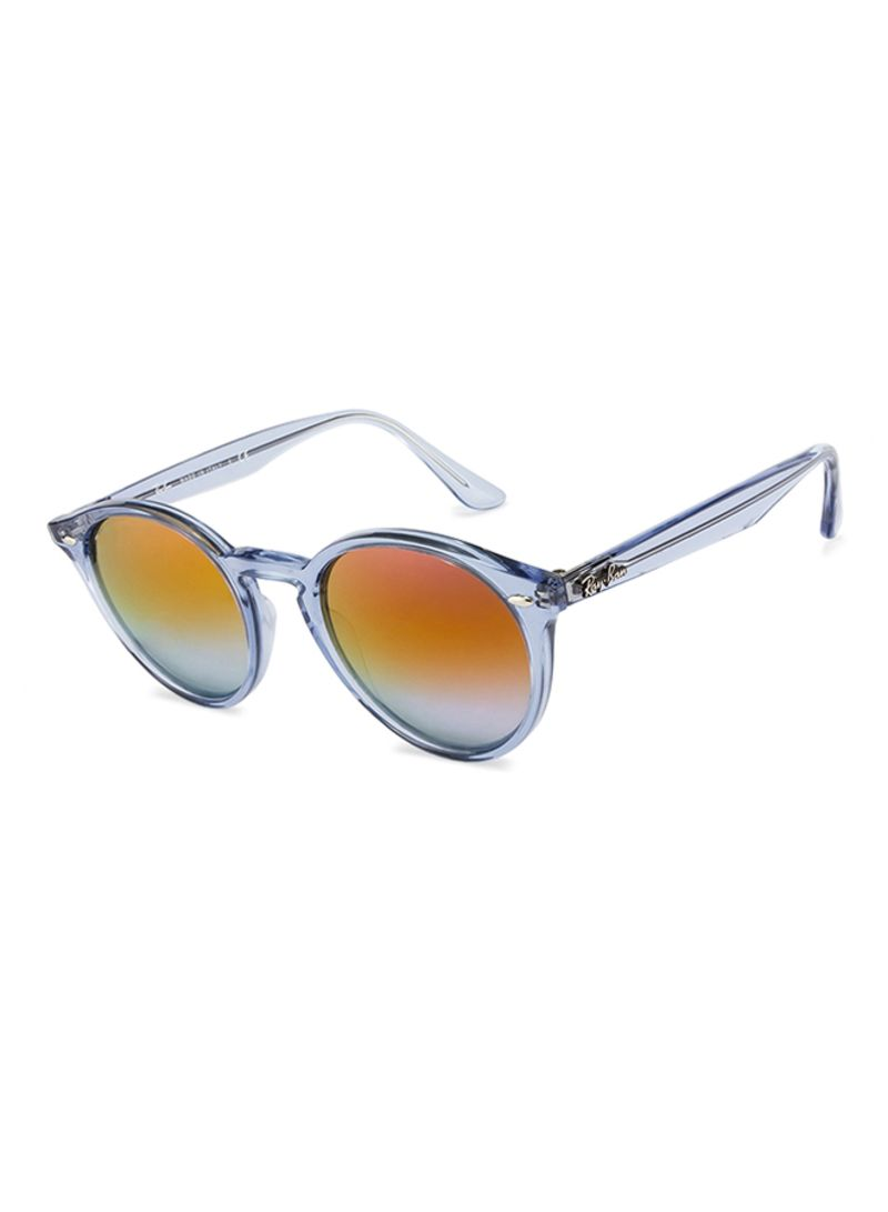 2af642123e Shop Ray-Ban Women s Full Rim Round Frame Sunglasses RB2180 6278A9 ...