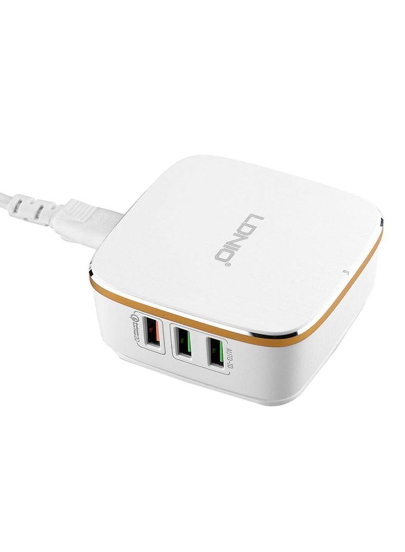 Shop Ldnio 6 Port Usb Desktop Charger White Online In Dubai Abu Car 34a Otheroffersimg V1522415951 N13890257a 1