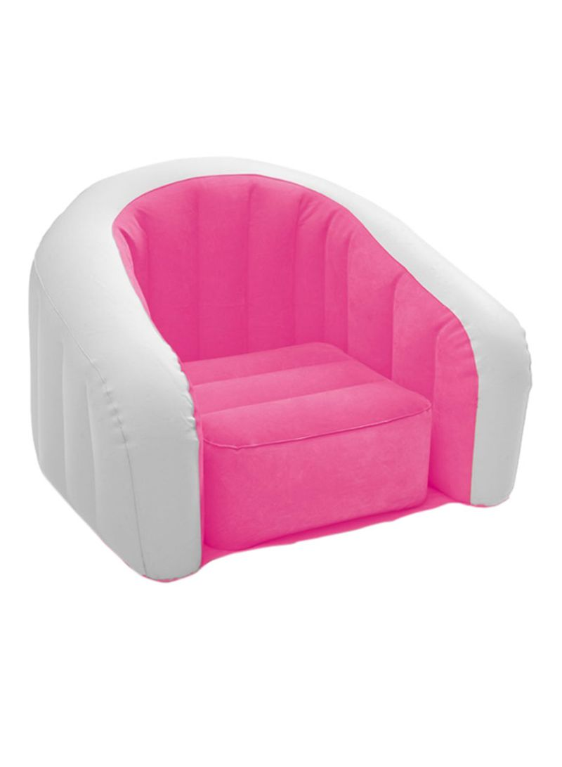 Shop Intex Inflatable Junior Cafe Chair Pink 9x9x9centimeter