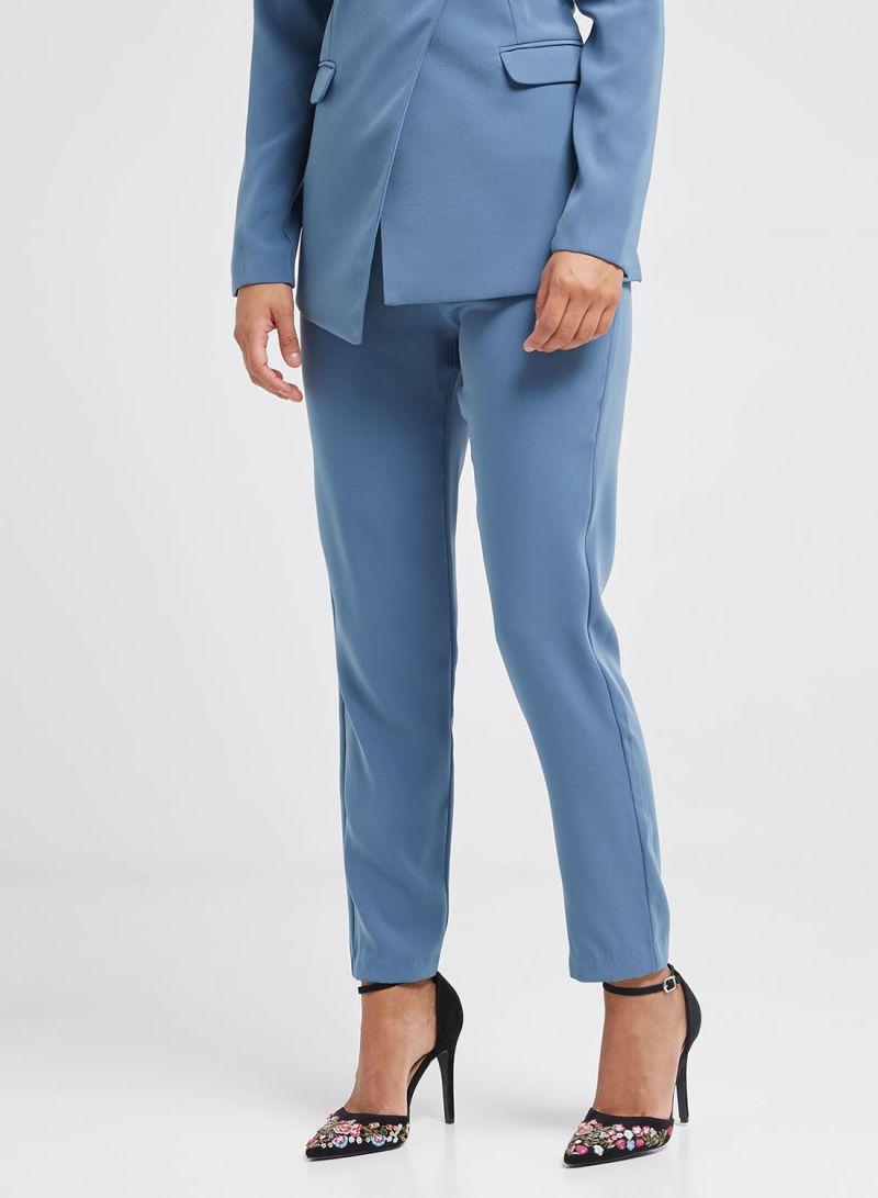 38afe77f20d1 Shop Lavish Alice Pleated Waistband Trousers Blue online in Riyadh ...