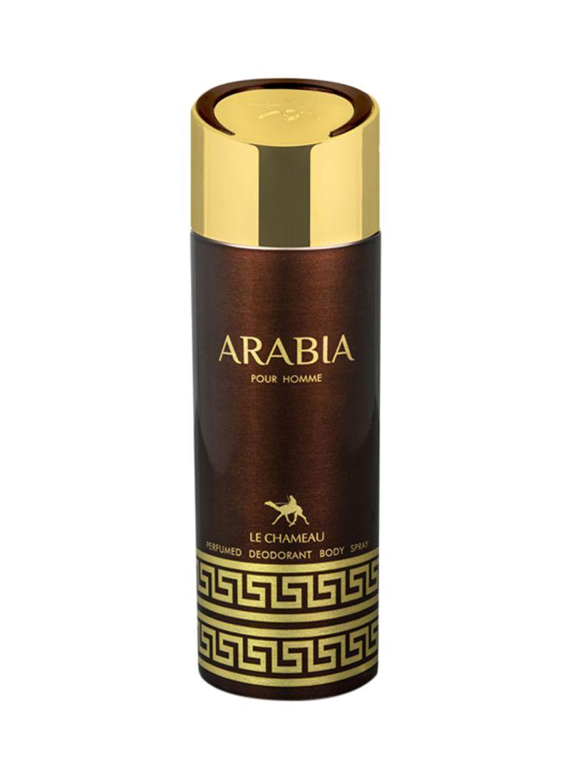 269b11488 تسوق لا شامو ورذاذ مزيل العرق آريبيا 200 مل أونلاين في السعودية