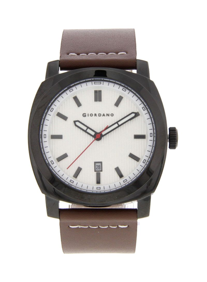 77a20fd4f8ded Shop GIORDANO Men's Leather Analog Watch 1789-03 online in Dubai ...