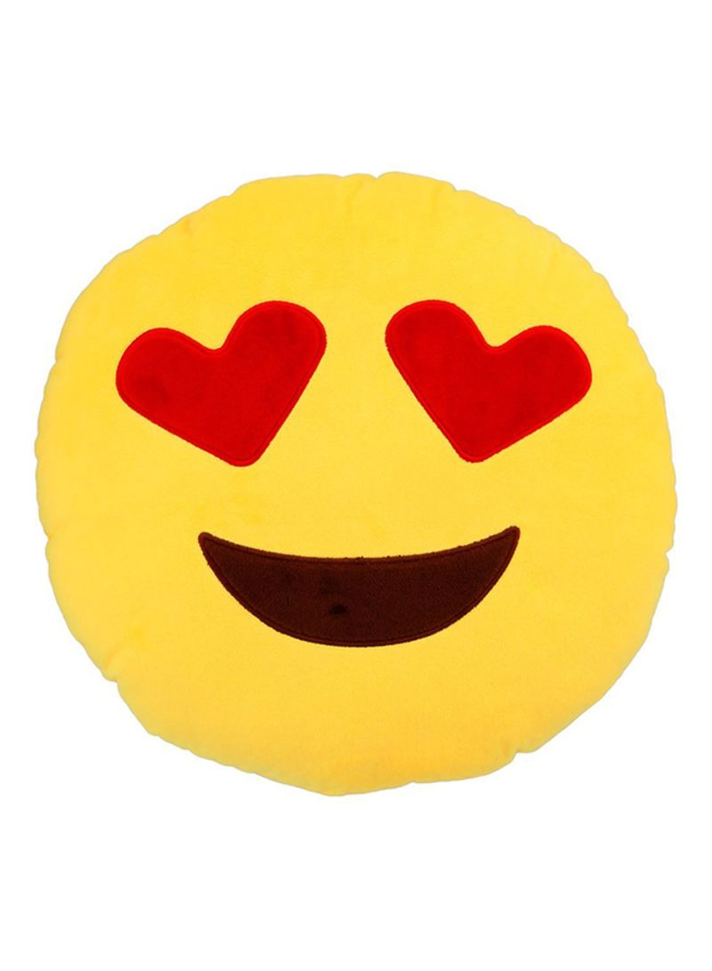 920a46a2abd Shop Generic Emoji Smiley Emoticon Round Cushion Pillow Cotton ...