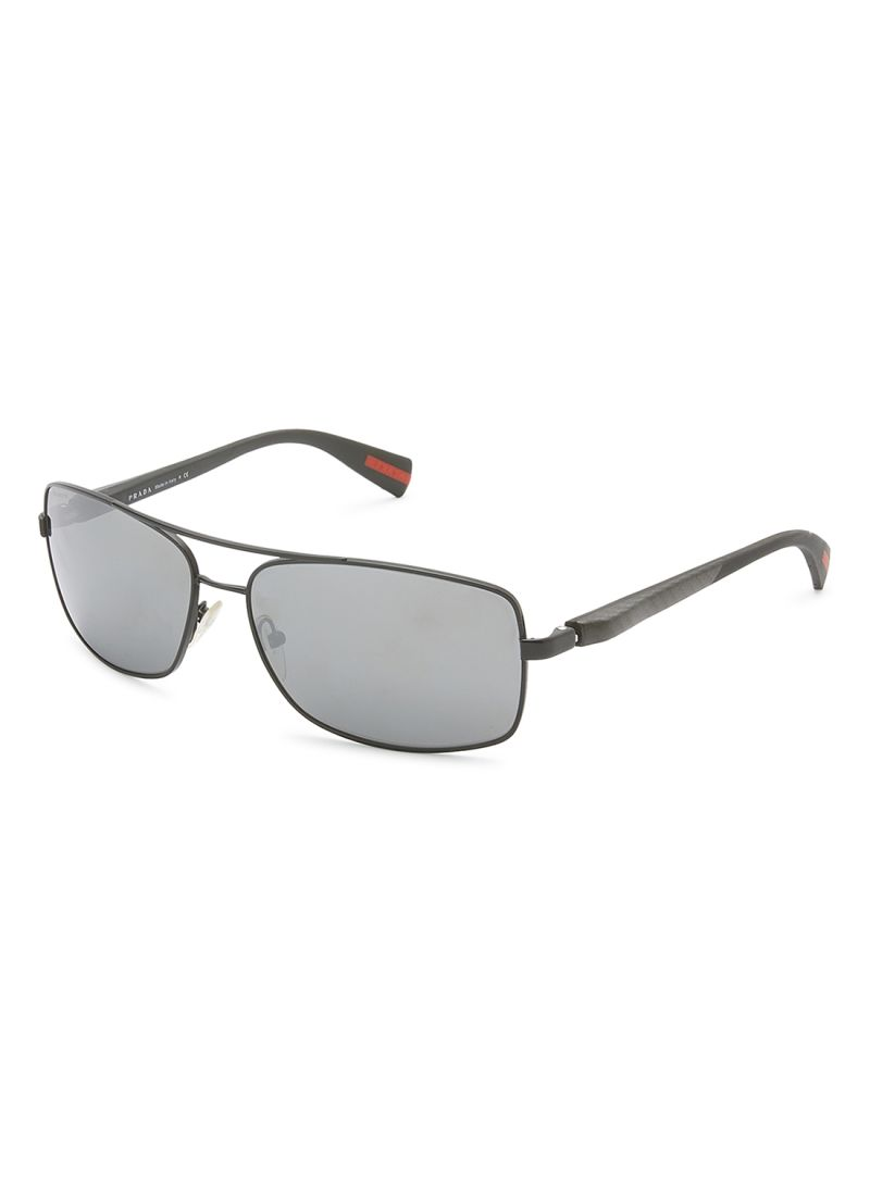 e5e77c0dc6 Shop PRADA Women s Aviator Frame Sport Sunglasses SPS 50 online in ...