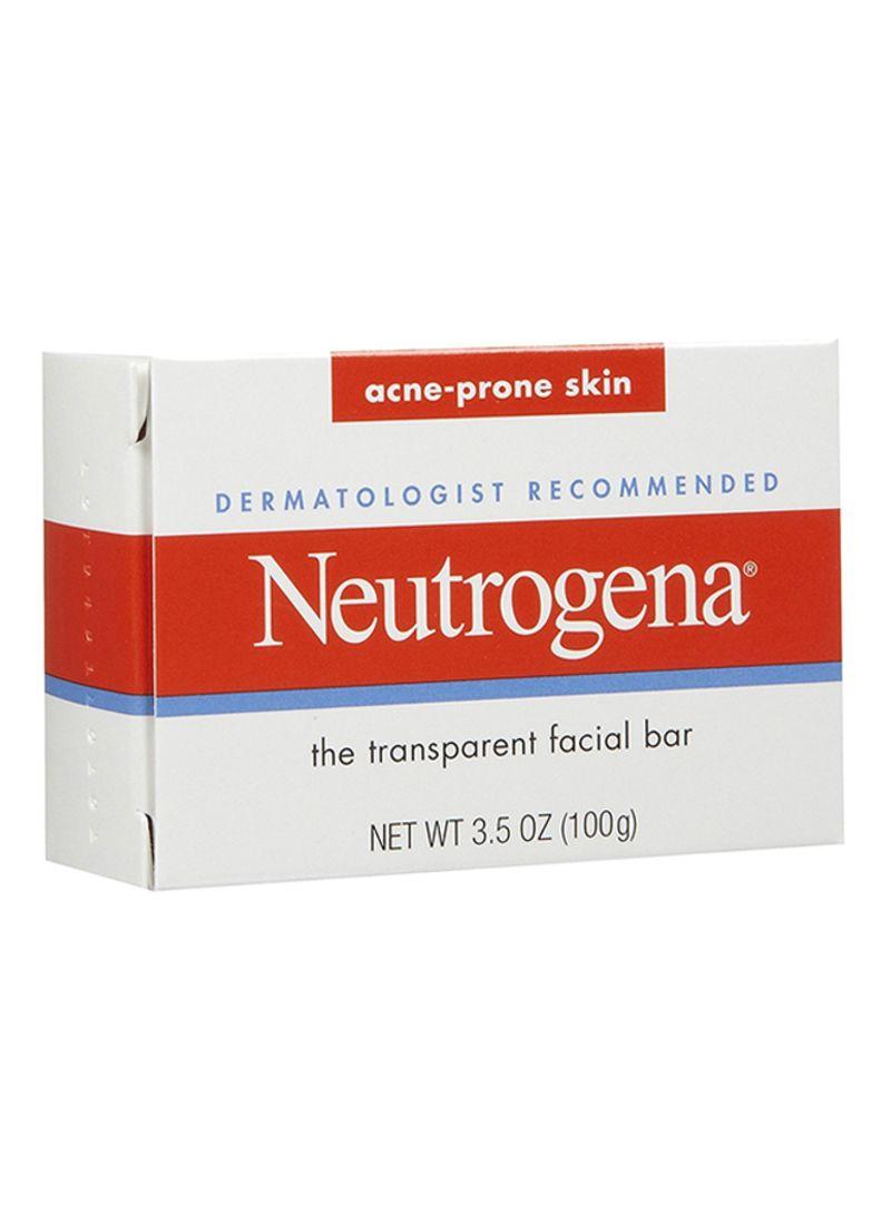 Shop Neutrogena Transparent Facial Soap Bar Clear 99 22 g online in Dubai,  Abu Dhabi and all UAE
