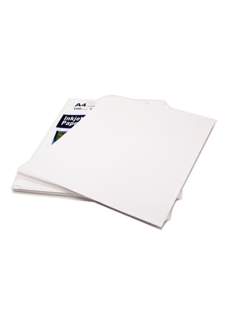 Shop Generic 100-Sheets A4 Inkjet Paper For Sublimation Printing White  online in Dubai, Abu Dhabi and all UAE