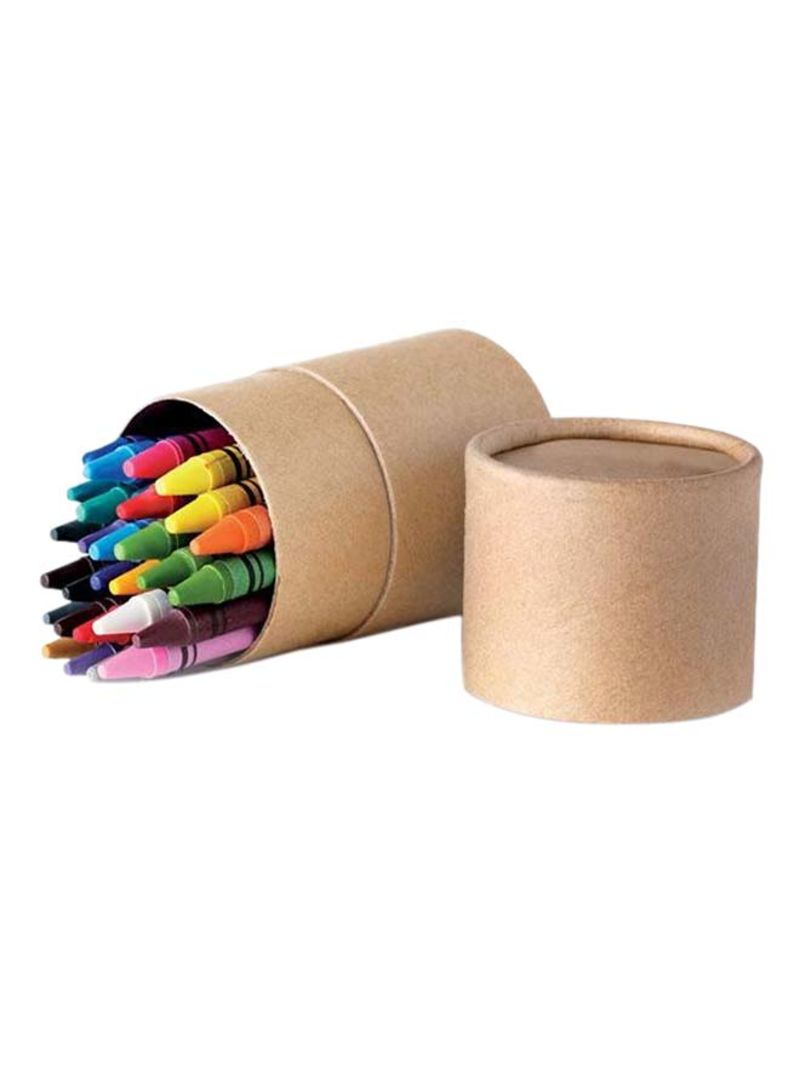 Crayons in a tube