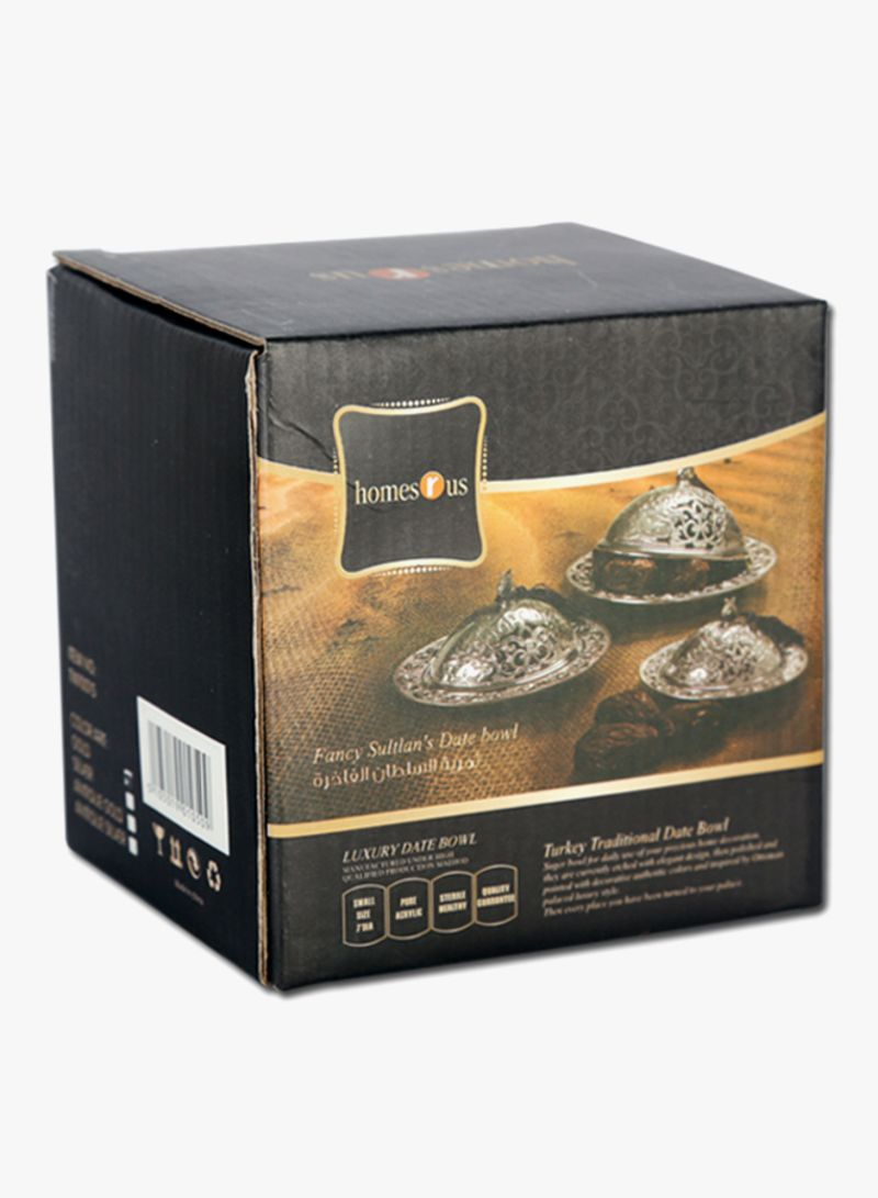 Shop homes r us Fancy Sultans Date Bowl Gold online in Dubai c5bbe8cc4d