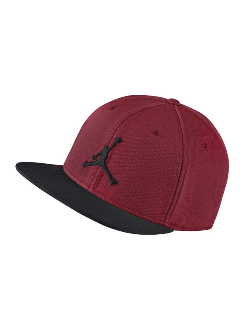 designer fashion 16558 f1d8f Shop Nike Jordan Jumpman Snapback Adjustable Cap Black Red online in ...