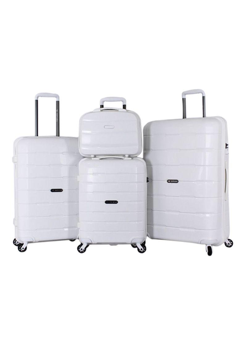 7b2f1b52688a7 تسوق سونادا وطقم حقائب سفر بعجلات مكون من 3 قطع مع حقيبة أدوات تجميل ...