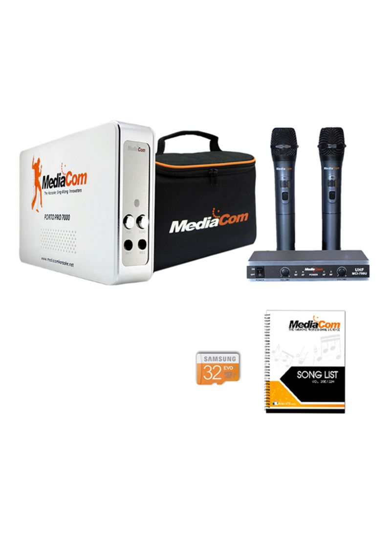 Shop MediaCom MCI Porto 7000 Travelite Karaoke And Media Player