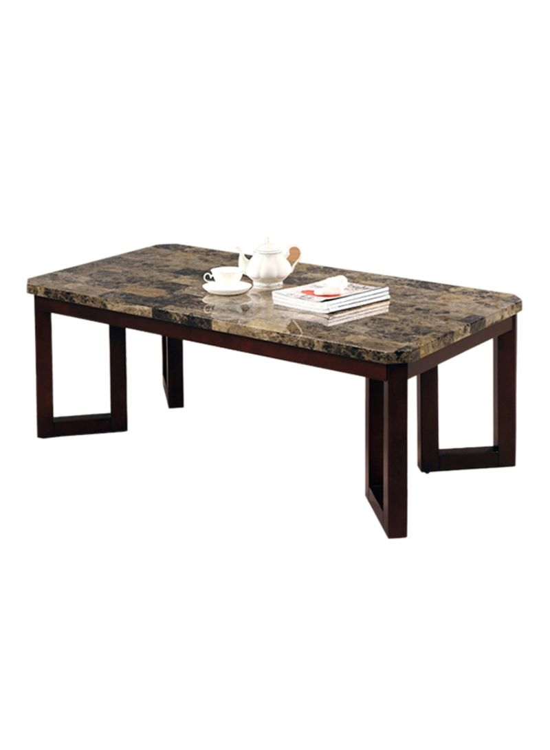 Picture of: Shop Homes R Us Marble Coffee Table Cherry Online In Riyadh Jeddah And All Ksa
