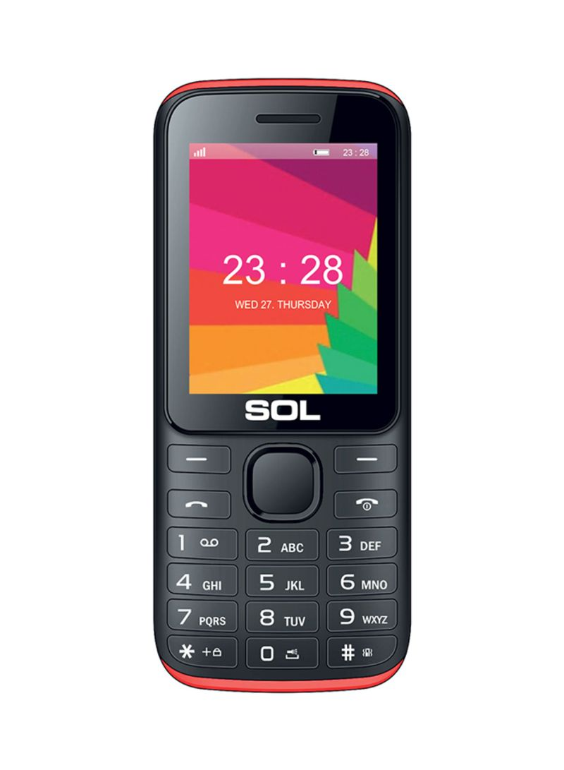1af1086c7a6 1 عرض متوفر. otherOffersImg. SOL. B2400 Dual SIM Black 2G