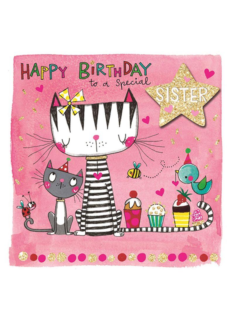 Shop Rachel Ellen Designs Special Sister Happy Birthday Greeting