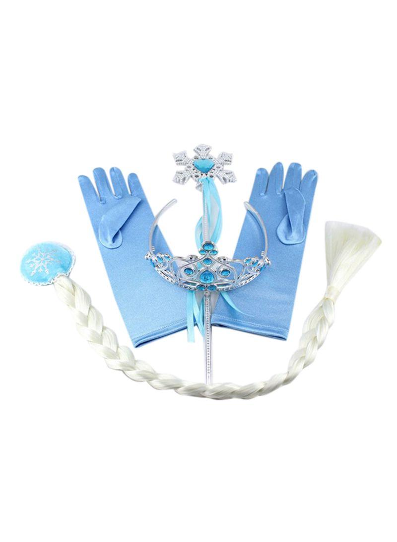 Shop Disney FROZEN 4-Piece Princess Elsa Anna Accessory Set 57centimeter online in Riyadh, Jeddah and all KSA