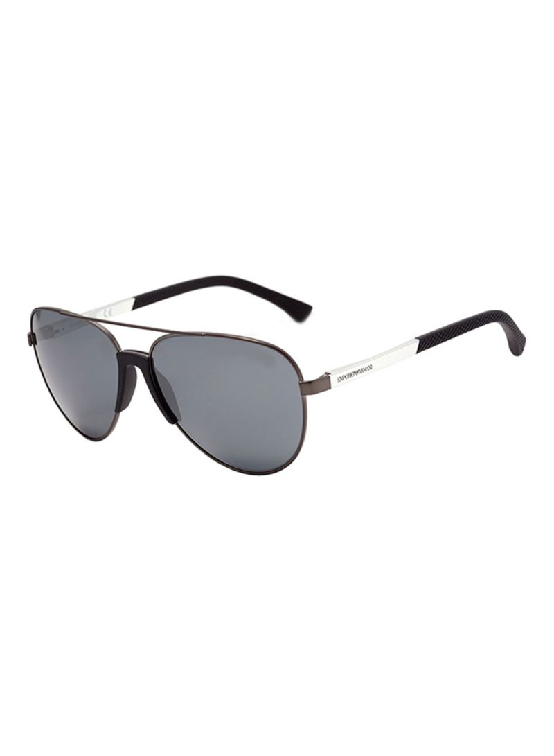 d6d1744b1f70 ... Shop Emporio Armani Men s Full Rim Aviator Sunglasses EA20593010