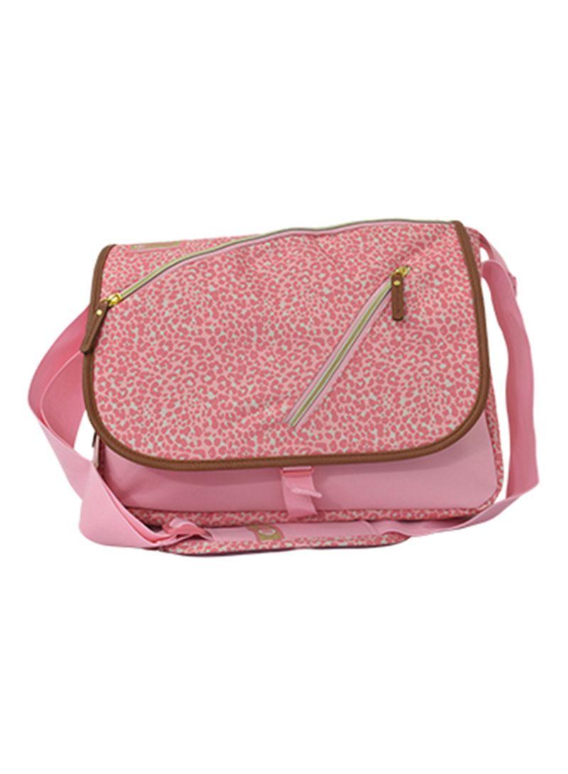 21a389175a60 Shop PAUSE Leopard Messenger Bag With Pencil Case online in Dubai ...