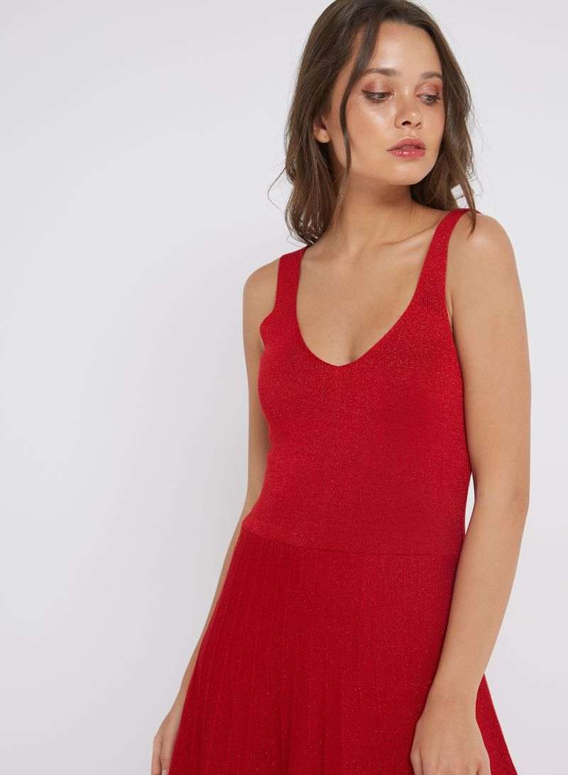 2c0a55207dd0 Shop Sfera Sleeveless Party Dress Red online in Dubai, Abu Dhabi and ...
