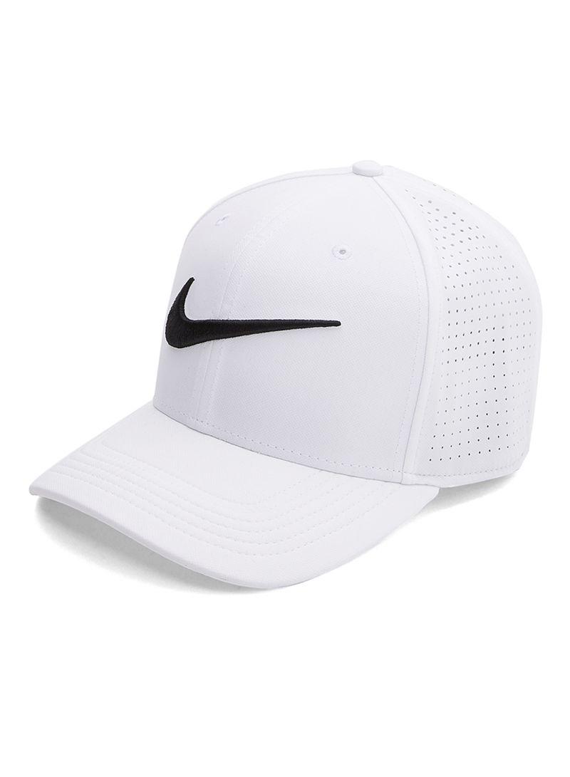 Shop Nike Polyester Cap White online in Riyadh 7e2174aa15a