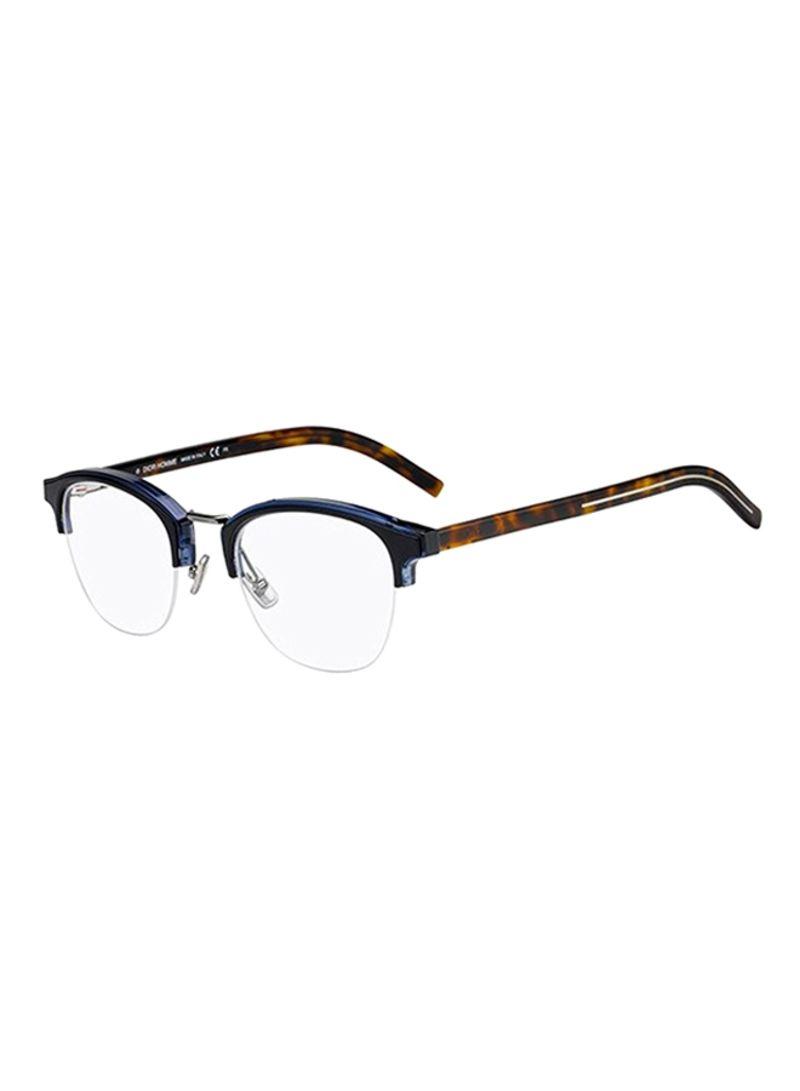 14734155dd5ff تسوق ديور وإطار نظارة طبية بتصميم خط الحاجب وبنصف حافة طراز ...