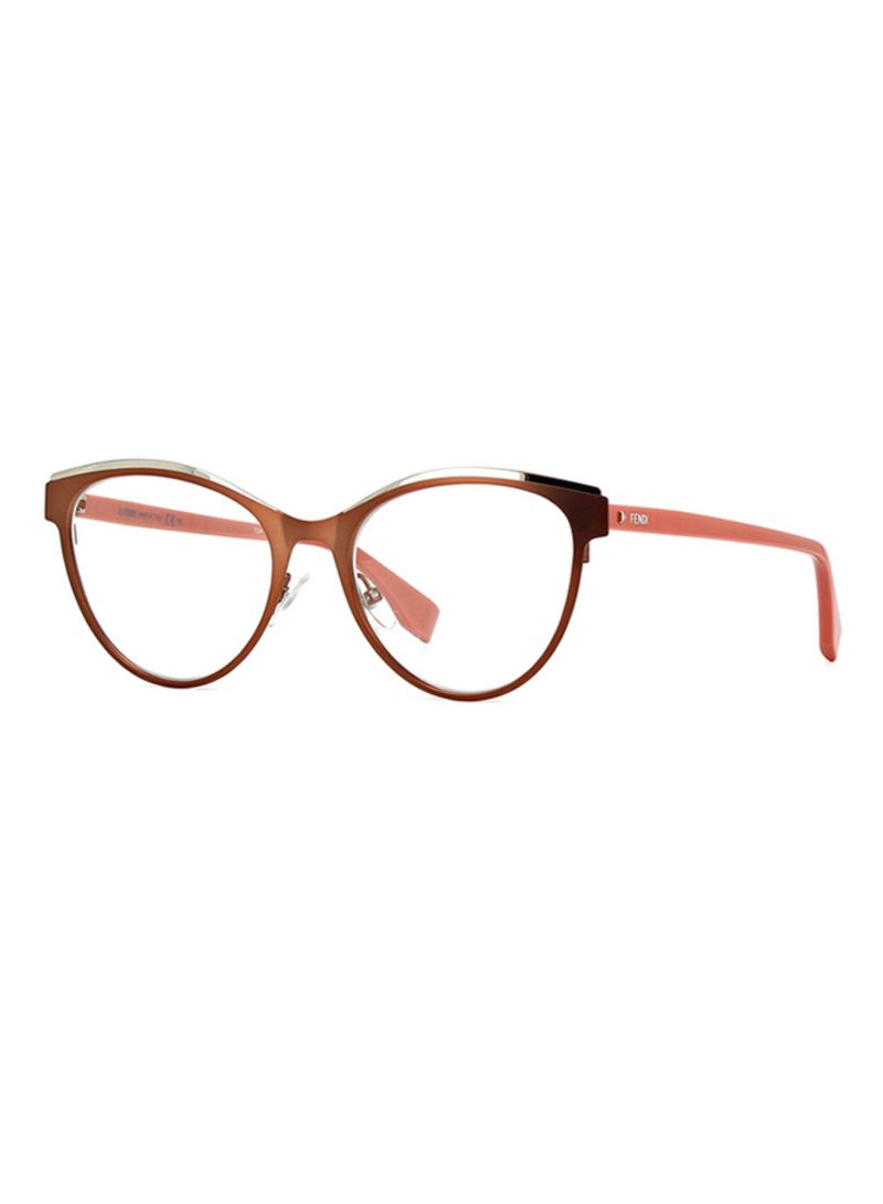 7c7c060c20 Shop Fendi Women s Full Rim Cat Eye Eyeglass Frame FF0278-35J-53 ...