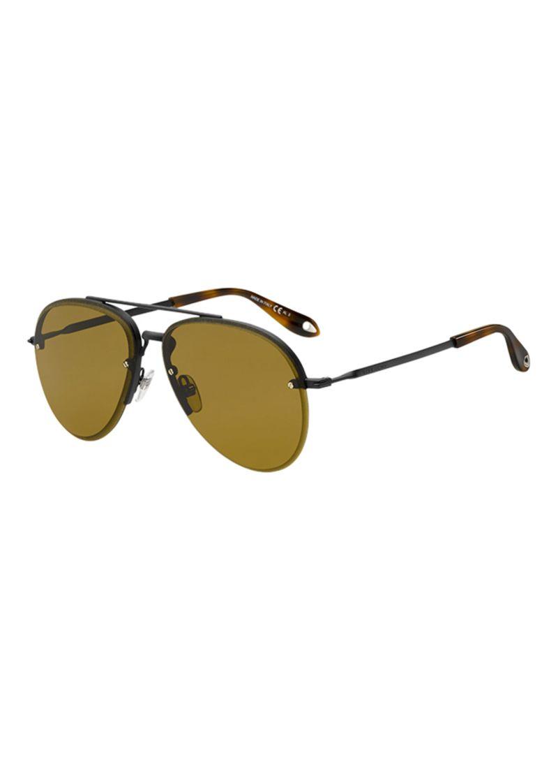70affc6cea8 Shop Givenchy Women s Semi-Rimless Aviator Sunglasses GV7075-003-70 ...