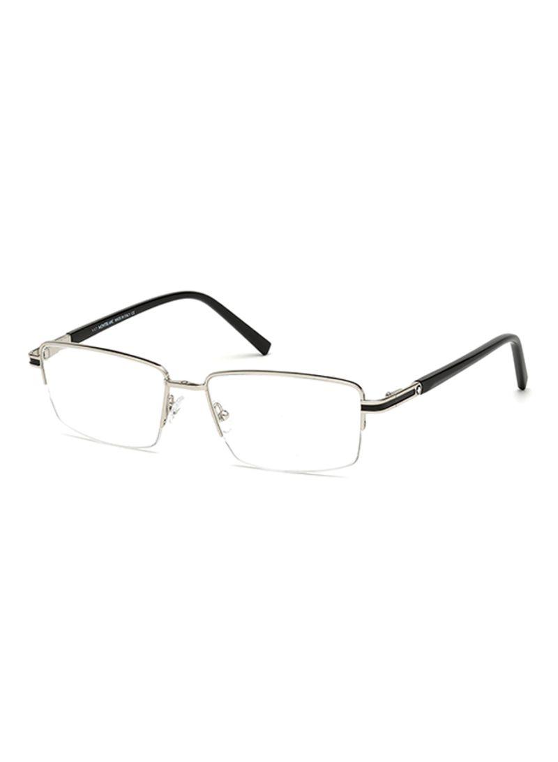 7acf660348 otherOffersImg v1524582515 N14369693A 1. Mont Blanc. Men s Semi Rimless Rectangular  Eyeglass ...