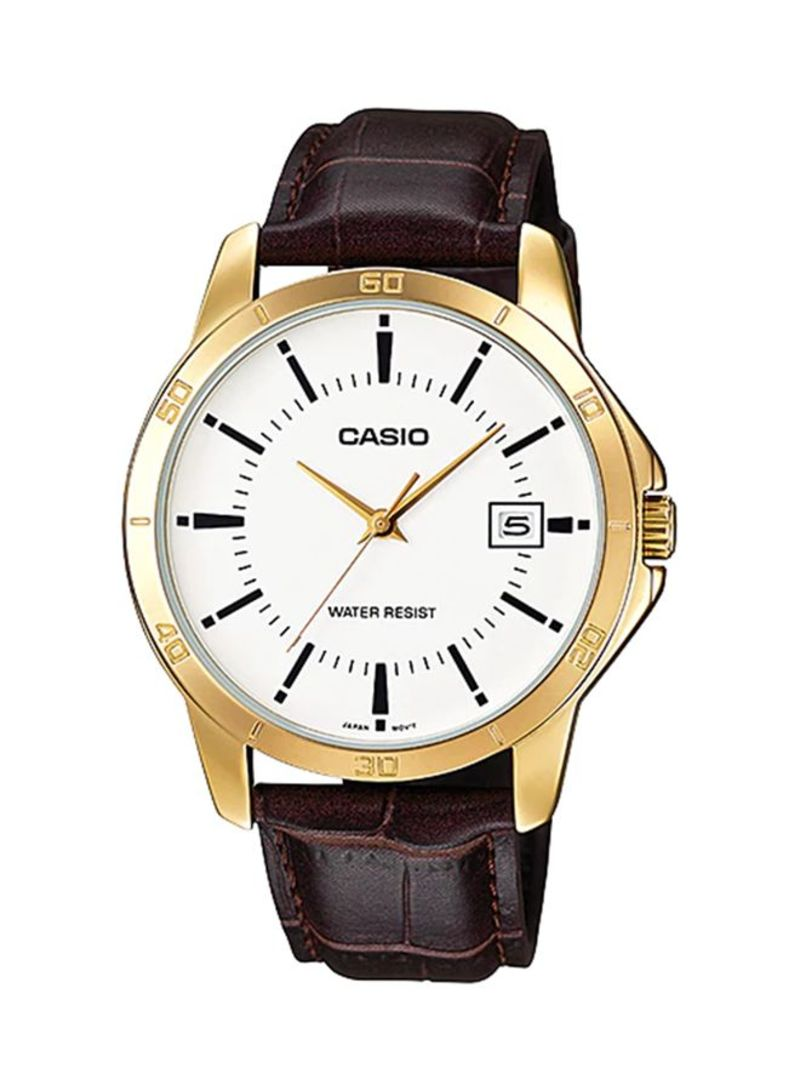 69e2cf20d otherOffersImg_v1524636758/N14366428A_1. Casio. Men's Leather Band Analog Watch  MTP-V004GL-7ADF