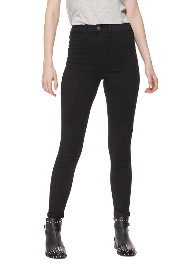 86bd889c2 Shop Debenhams Red Herring High Waist Skinny Jeans Black online in ...