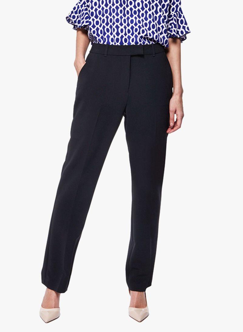 new specials outlet store vast selection Shop DEBENHAMS Principles Straight Leg Suit Trousers Black ...