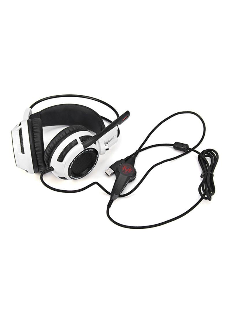 Shop Somic Virtual Surround Sound USB Gaming Headset Mic Vibration