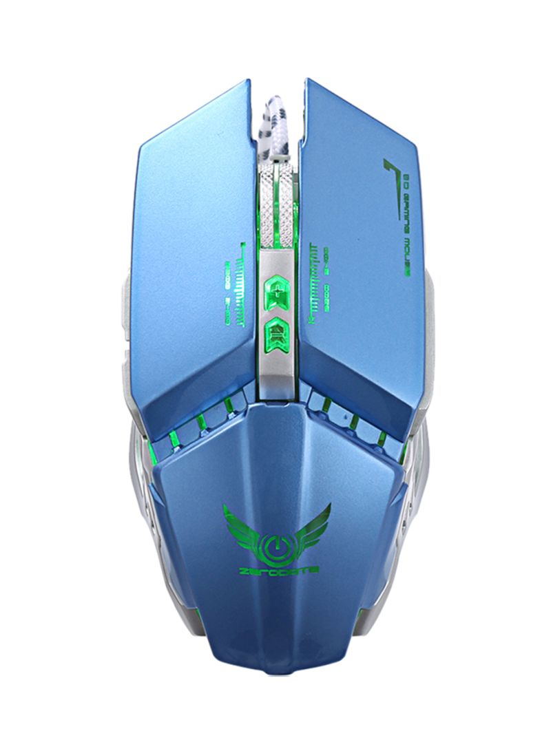 Shop ZECODRTE X700 3200DPI Wired Gaming Mouse With LED Light