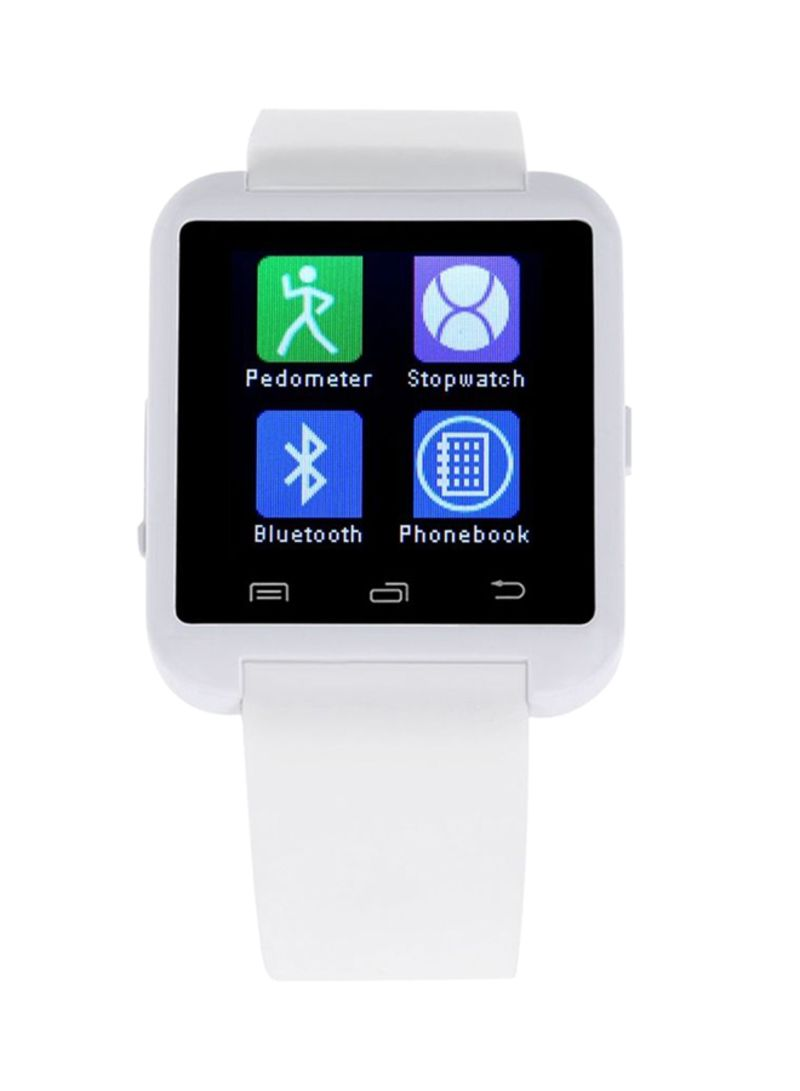 910ac0e4885 Shop U Watch U8 Smartwatch 230 mAh White online in Dubai