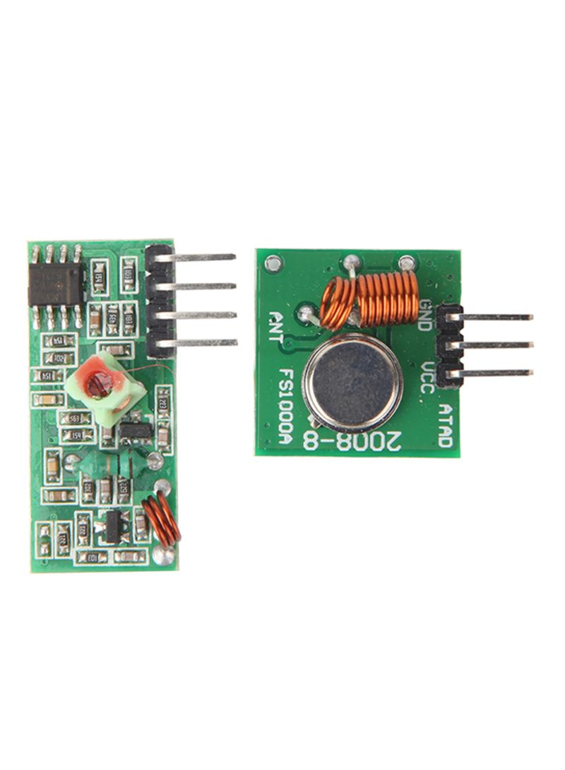 1X New 433Mhz RF Transmitter Module And Receiver Link Kit For Arduino//ARM//MCU WL