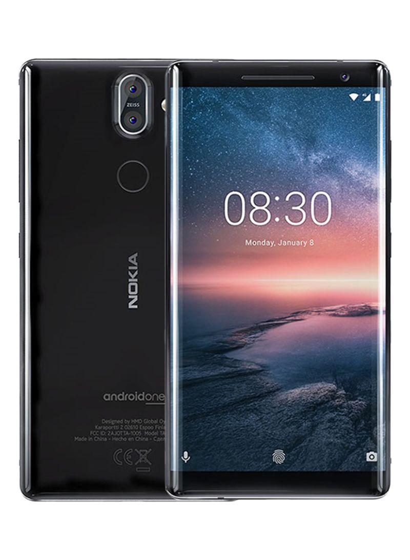Shop Nokia 8 Sirocco Dual SIM Black 128GB 4G LTE online in Dubai, Abu Dhabi  and all UAE