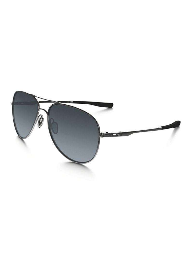5403dbab166 Shop OAKLEY Men s Polarized Aviator Sunglasses 4119-02 60 online in ...