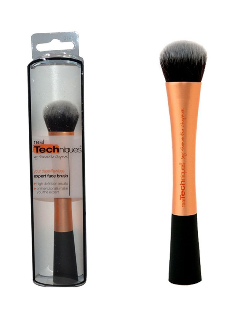 Shop Real Techniques 01401 Expert Face Brush Gold Black Online In