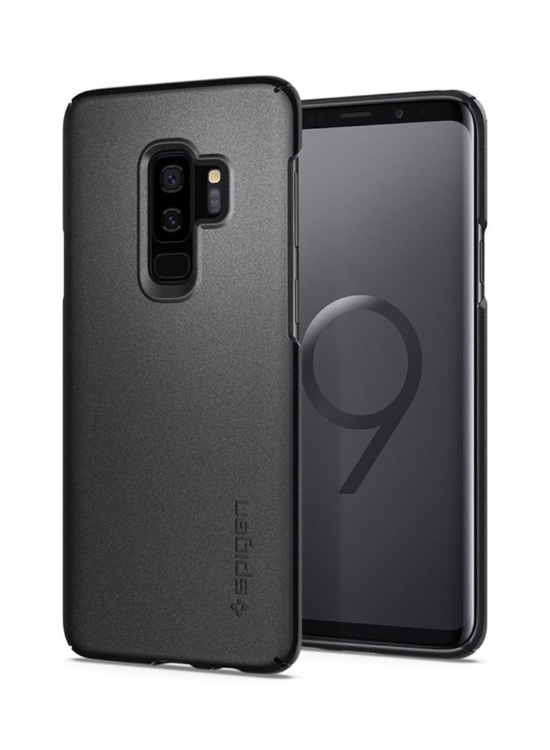 huge selection of b5c2f 52e1c Shop Spigen Polycarbonate Thin Fit Back Case Cover For Samsung Galaxy S9  Plus Graphite Grey online in Dubai, Abu Dhabi and all UAE