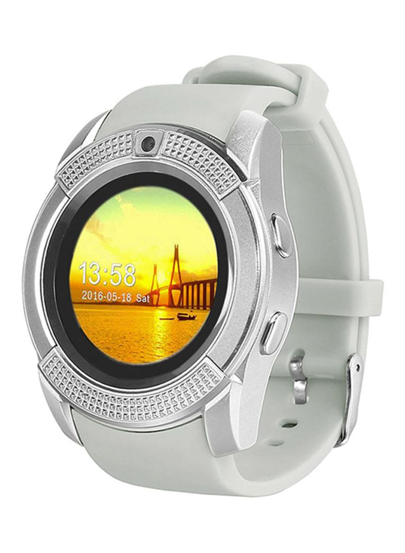 Shop Time Owner V8 Smartwatch White online in Dubai, Abu