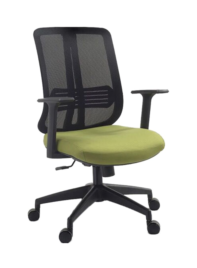 408fe225c Shop Galaxy Design Viva Office Mesh Chair Black Green online in ...