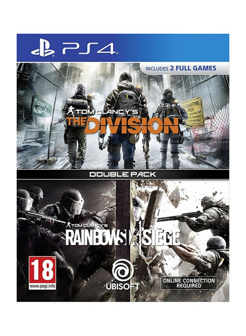Tom Clancy's: The Division + Tom Clancy's: Rainbow Six Siege - PlayStation 4