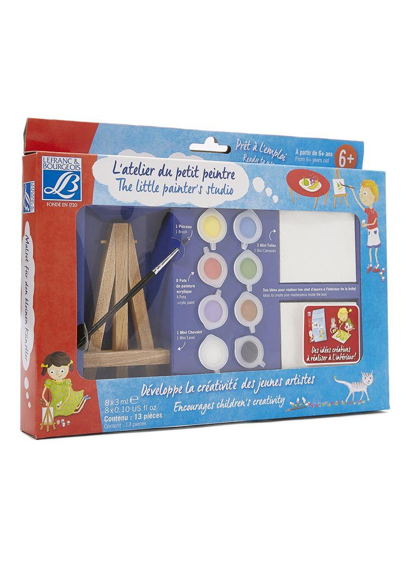 The Little Shop Peinture shop colart lb the little painter's studio multicolour