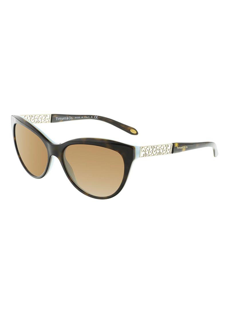 2dd07ec37e4 Shop Tiffany   Co. Women s Polarized Sunglasses TF4126B 80014U ...