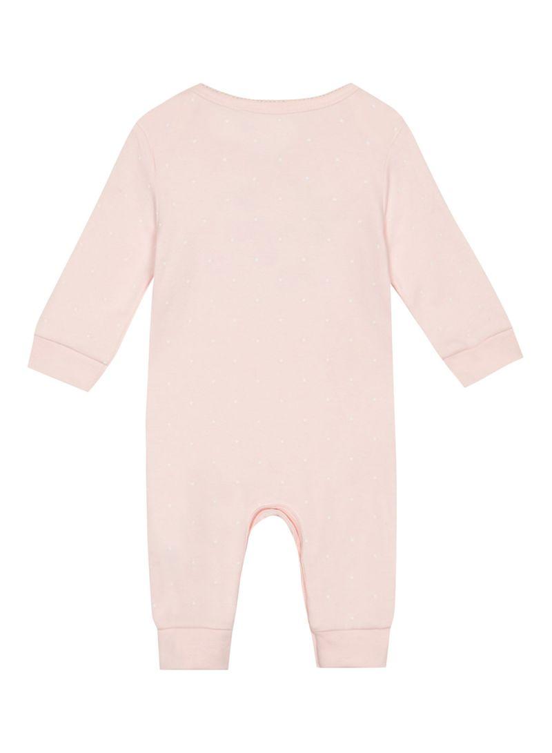 4125b185adf Shop Debenhams Bluezoo My First Eid Long Sleeve Sleepsuit Pink ...