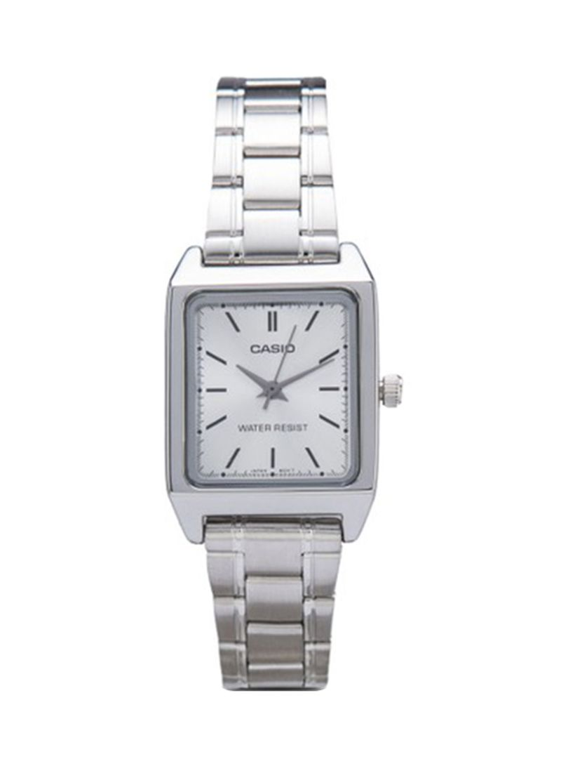 cfc7a9d5a Shop Casio Men's Stainless Steel Analog Watch MTP-V007D-7EUDF online ...